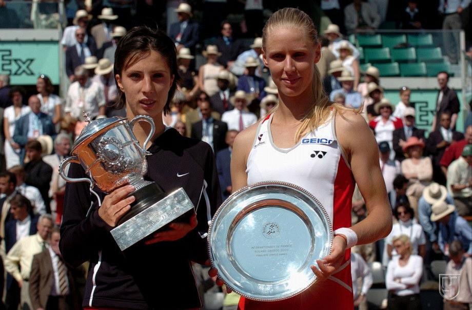 Анастасия Мыскина и Елена Дементьева разыграли финал «Ролан Гаррос»-2004