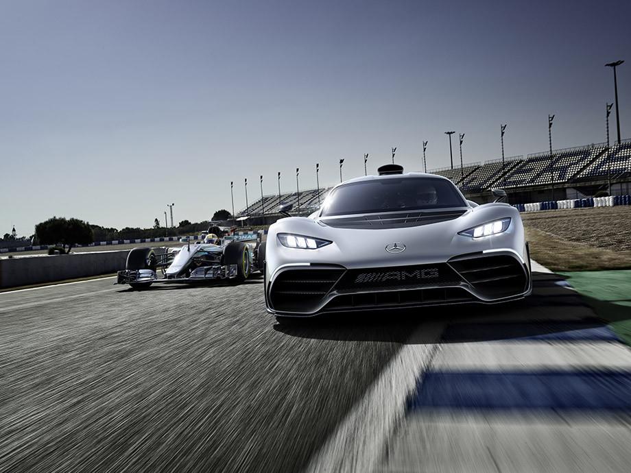 Mercedes-AMG One — гиперкар, построенный на базе болида Формулы-1 «Мерседес»