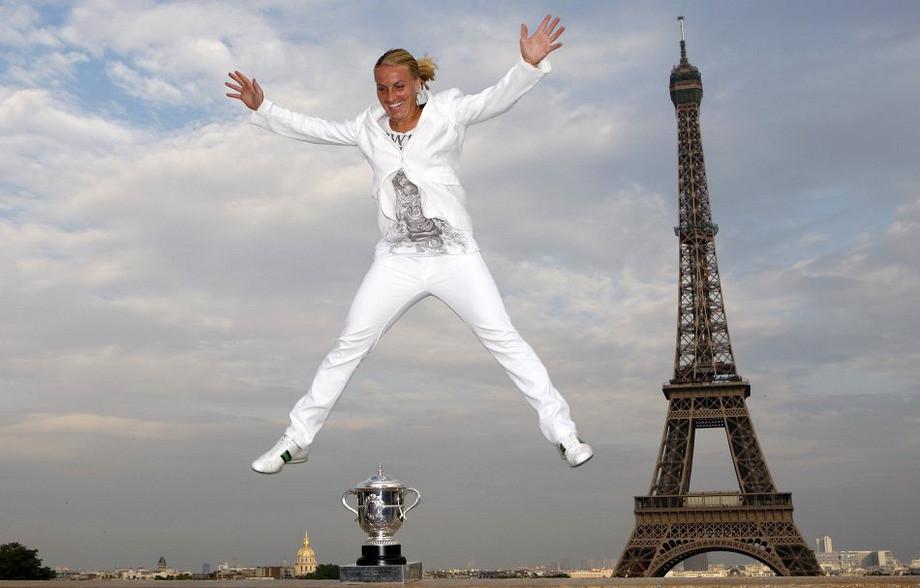 Светлана Кузнецова покорила Париж в 2009 году