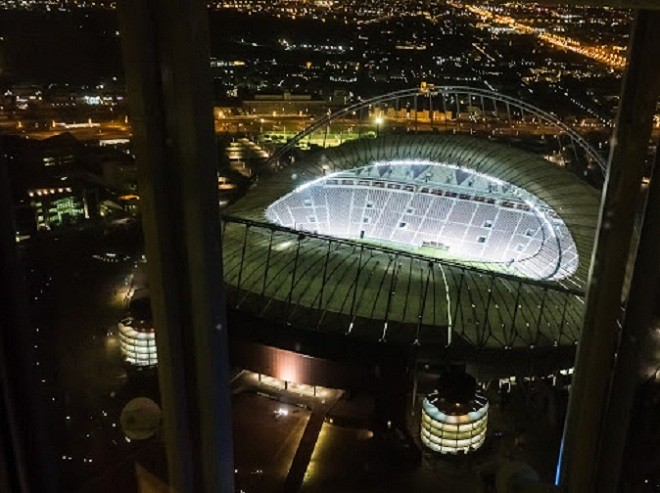 ВКатаре показали 1-ый  стадион кчемпионату мира