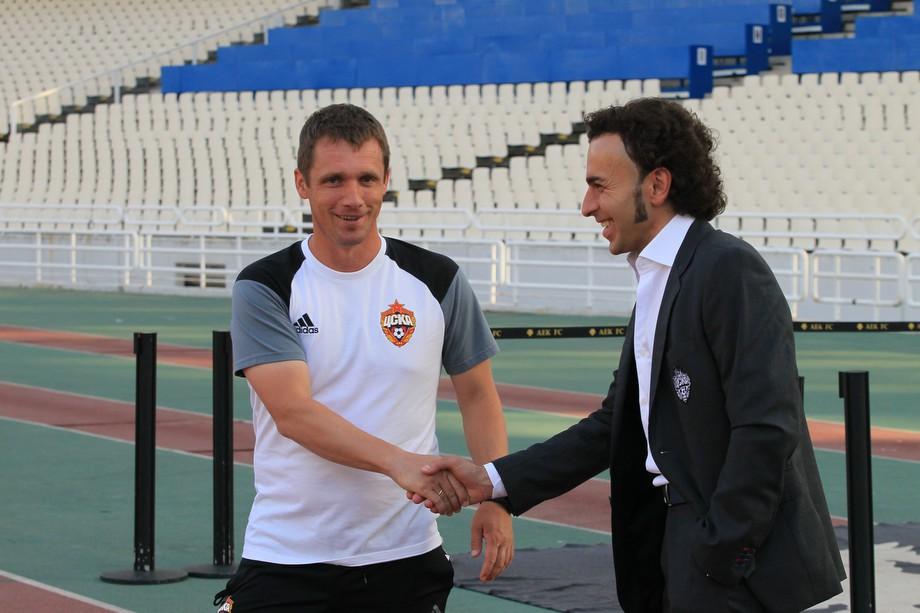 Виктор Гончаренко и Роман Бабаев