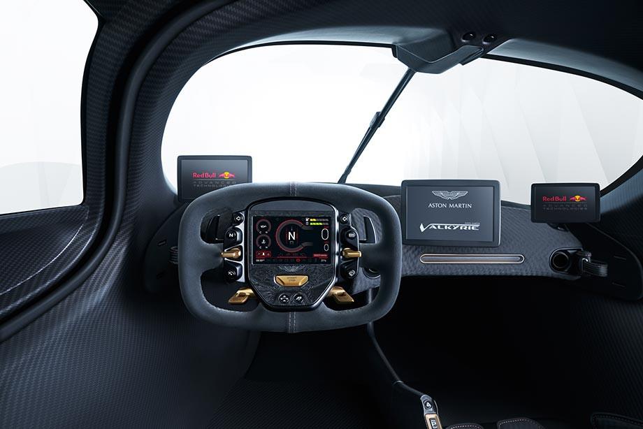 Гиперкар Aston Martin Valkyrie — машина от Эдриана Ньюи, «Ред Булл» и «Астон Мартин»