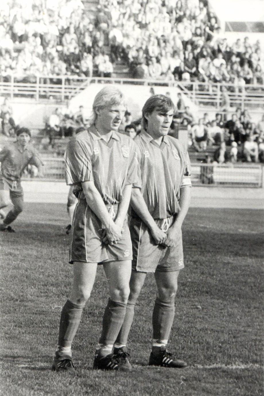 Василий Иванов и Михаил Колесников