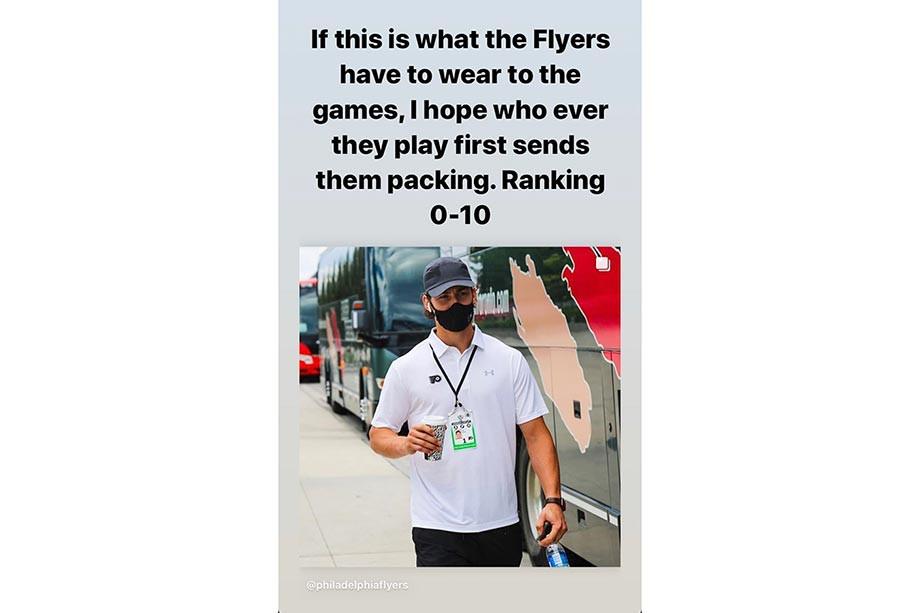 Модный приговор от Верстига. Экс-форварду «Авангарда» не нравится одежда звёзд НХЛ
