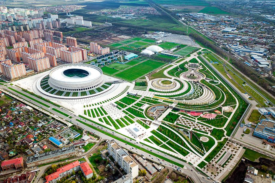 осмотра парк стадион краснодар фото статья поможет