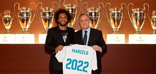 «Реал» объявил о продлении контракта с Марсело