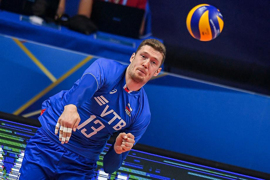 Состав мужской сборной России по волейболу на олимпийский отбор