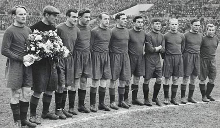 Команда ЦДКА послевоенных лет