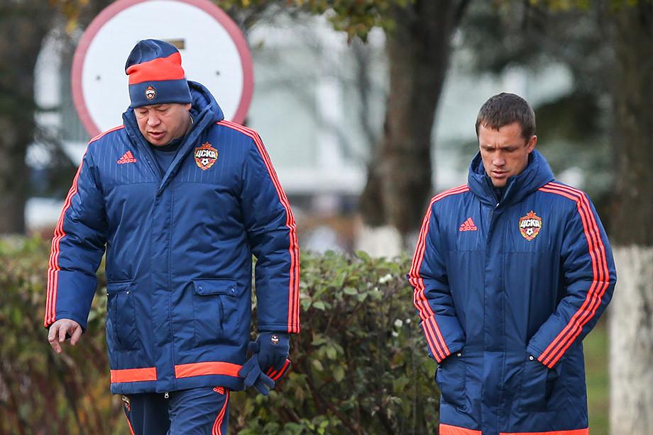 Леонид Слуцкий и Виктор Гончаренко