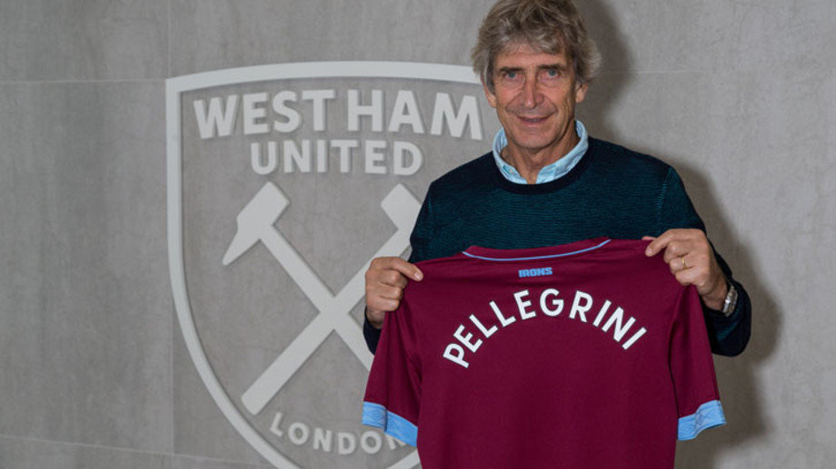 «Вест Хэм» объявил о назначении Пеллегрини на пост главного тренера