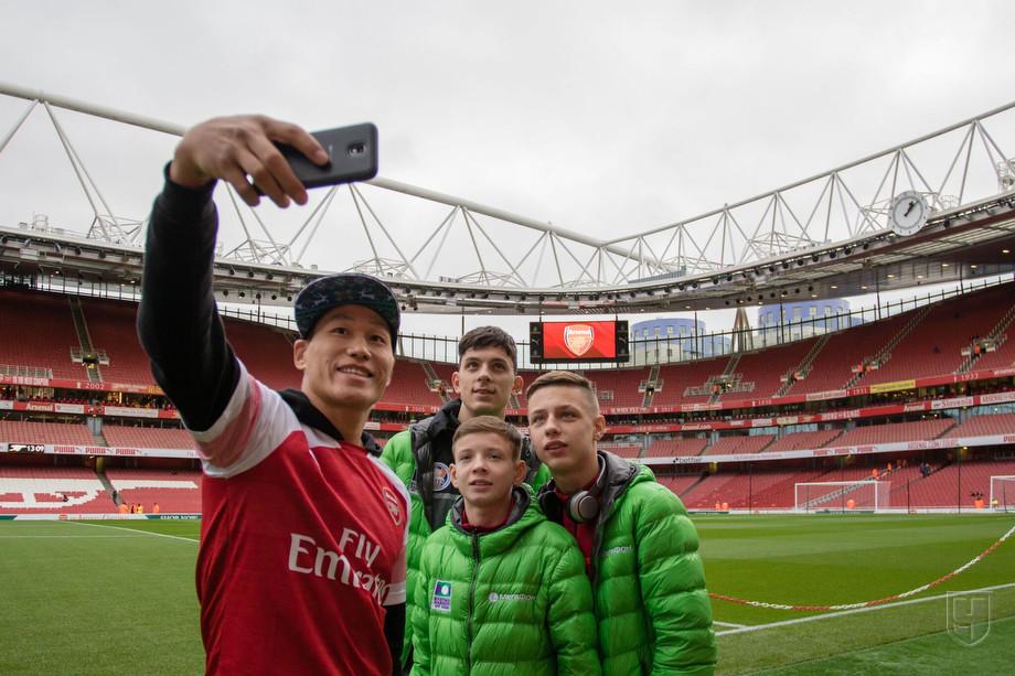 Нагрузка футболистов лондонского арсенала