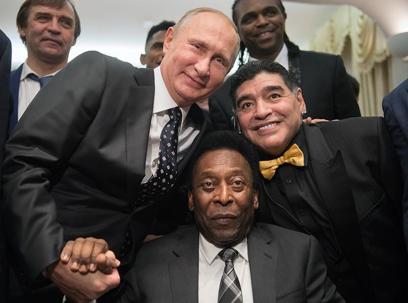Lev Yaşin, Pele və Maradona...