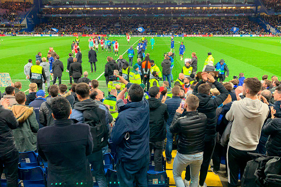 «Челси» — «Аякс» — 4:4, 5 ноября 2019, как судья испортил матч