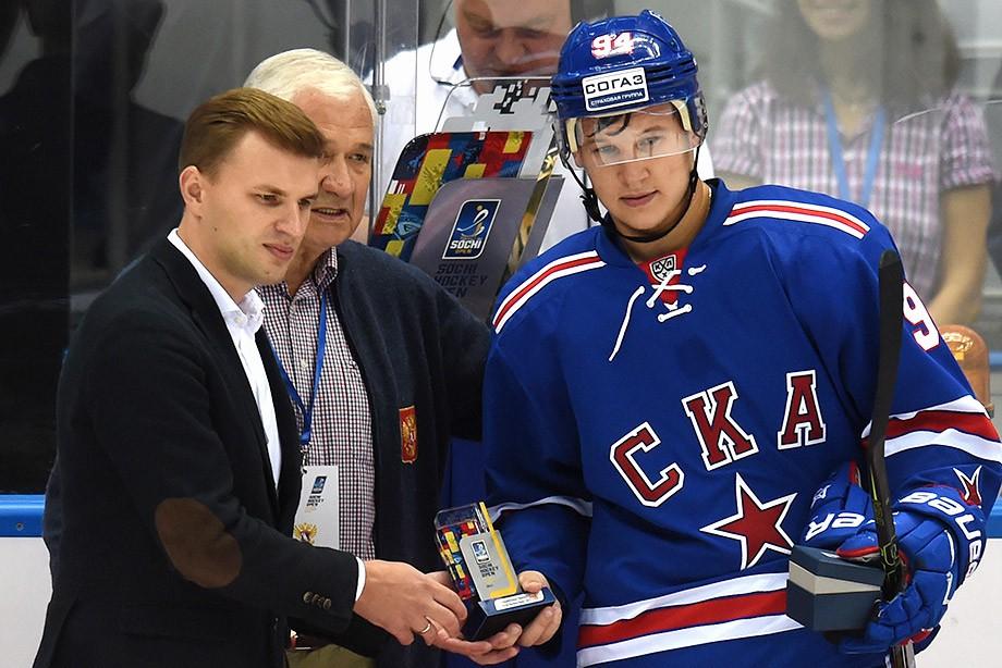 Александр Барабанов — лучший игрок Sochi Hockey Open