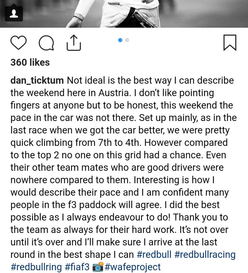 Удалённый пост Дэниела Тиктума