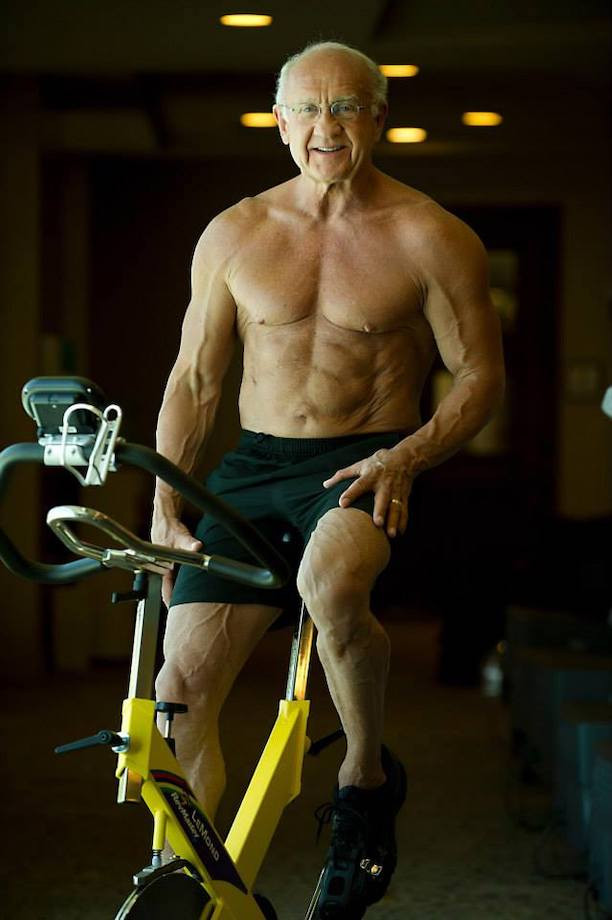 Как накачался 82-летний дедушка? История Джеффри Лайфа. Фото до и после