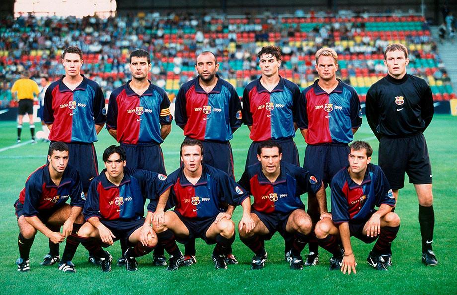 Как менялась форма футбольного клуба «Барселона» 119 лет: от kappa до nike