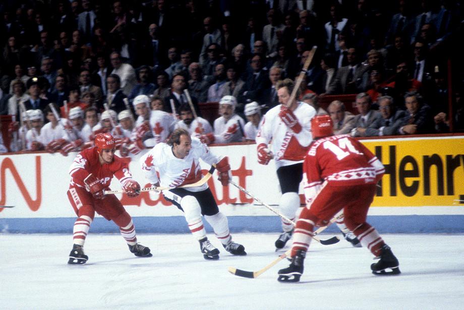 Как сборная СССР выиграла Кубок Канады в 1981 году, разгромили Канаду 8:1