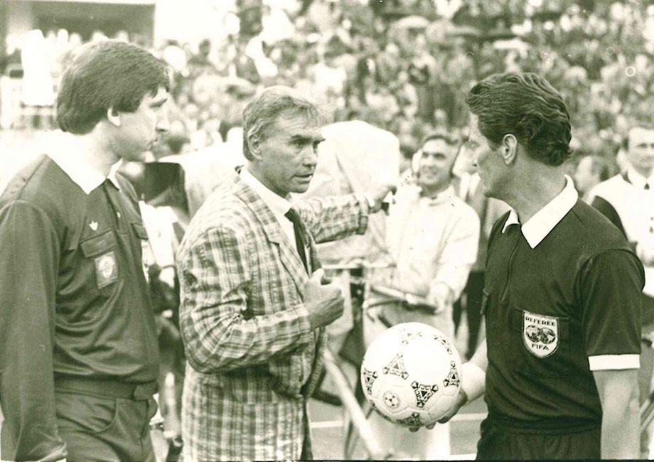 Сергей Хусаинов, Владимир Маслаченко и Валерий Бутенко