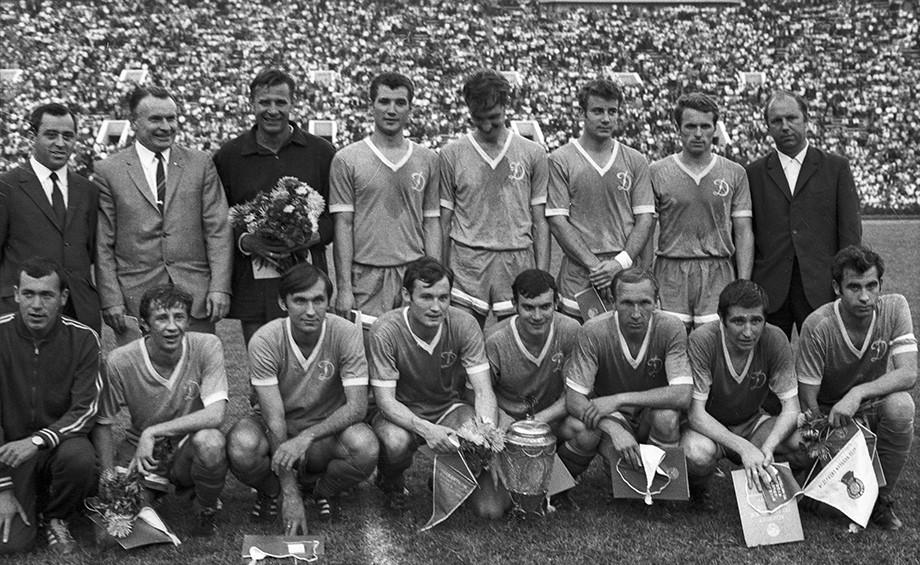 Футбольное «Динамо» — чемпион СССР