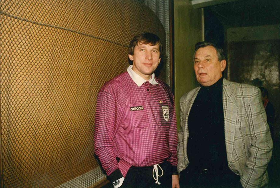 Сергей Хусаинов и Валентин Иванов