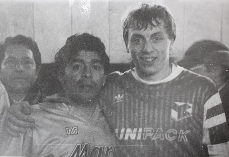 Диего Марадона и Валерий Шмаров