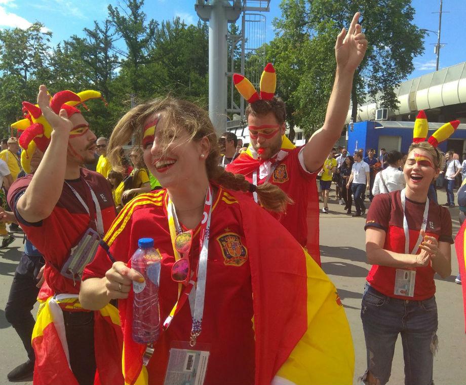 Основное время матча Испания— РФ закончилось. 1:1
