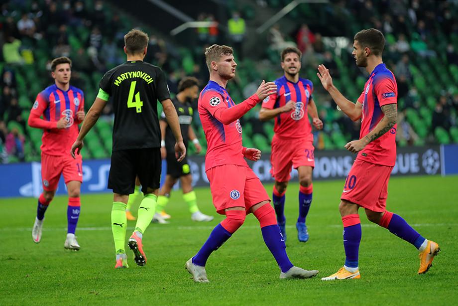 «Краснодар» = Лига чемпионов во всём (от блюд у арены до финтов Сафонова). Даже после 0:4