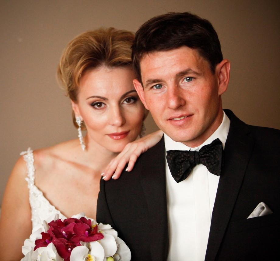 Альбина Ахатова с мужем Максимом Максимовым