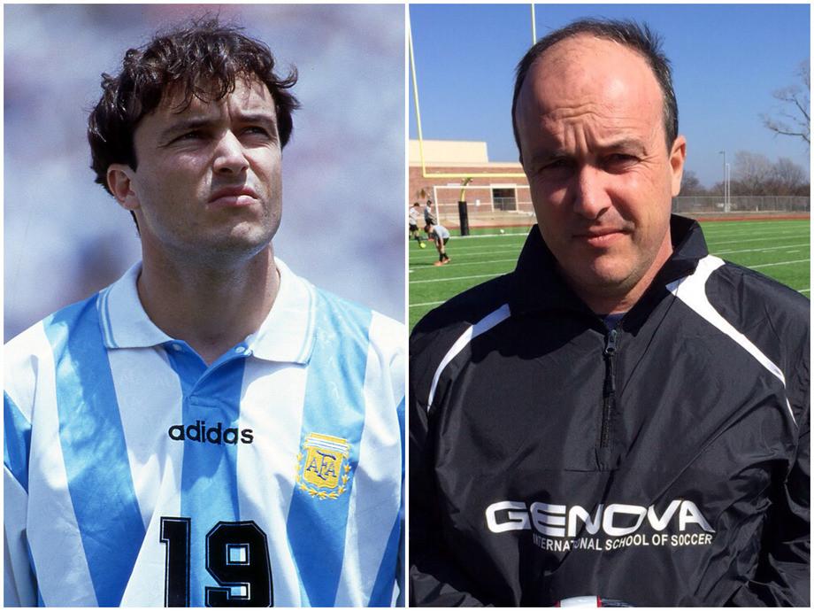 Как сейчас выглядят культовые бомбардиры сборной Аргентины 1990-2000-х