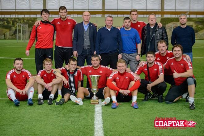 Погребняк принял участие в турнире выпускников академии «Спартака»