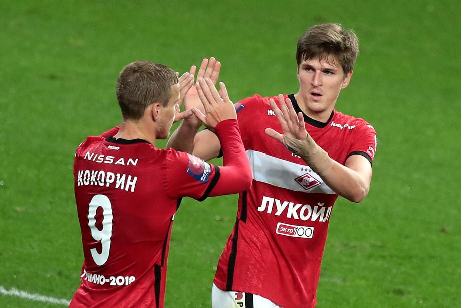Александр Кокорин и Александр Соболев