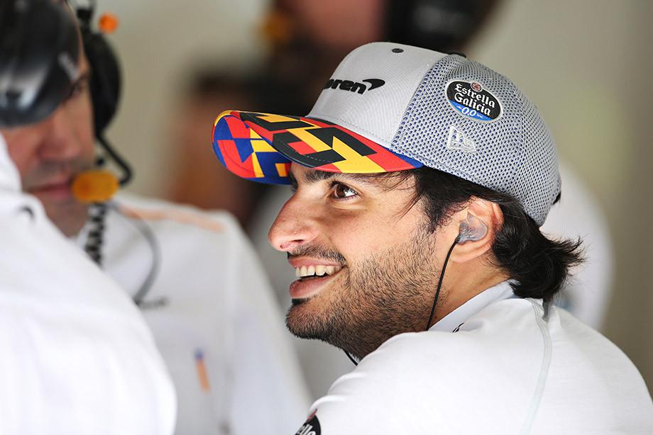 Карлос Сайнс на Гран-при Австрии