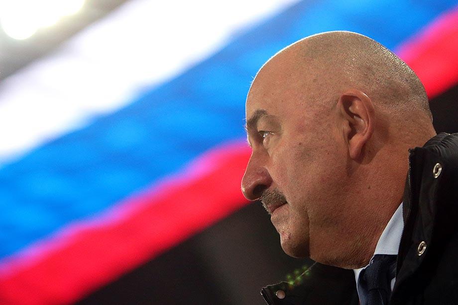 4 года Станислава Черчесова в сборной России: достижения, игры, футболисты