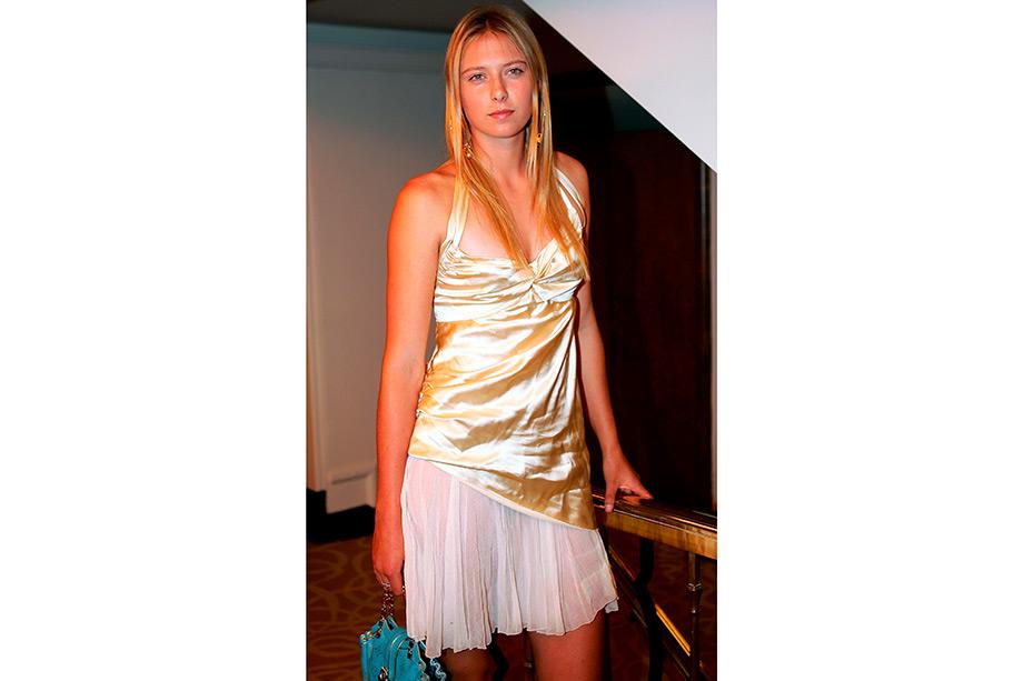 Триумф 17-летней Марии Шараповой на Уимблдоне-2004, как она тогда выглядела, видео