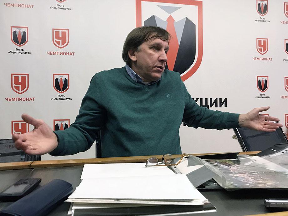 Сергей Хусаинов в редакции «Чемпионата»