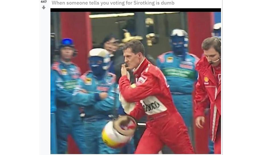 Сироткин – лучший гонщик Ф-1! К такому авторов опроса жизнь явно не готовила