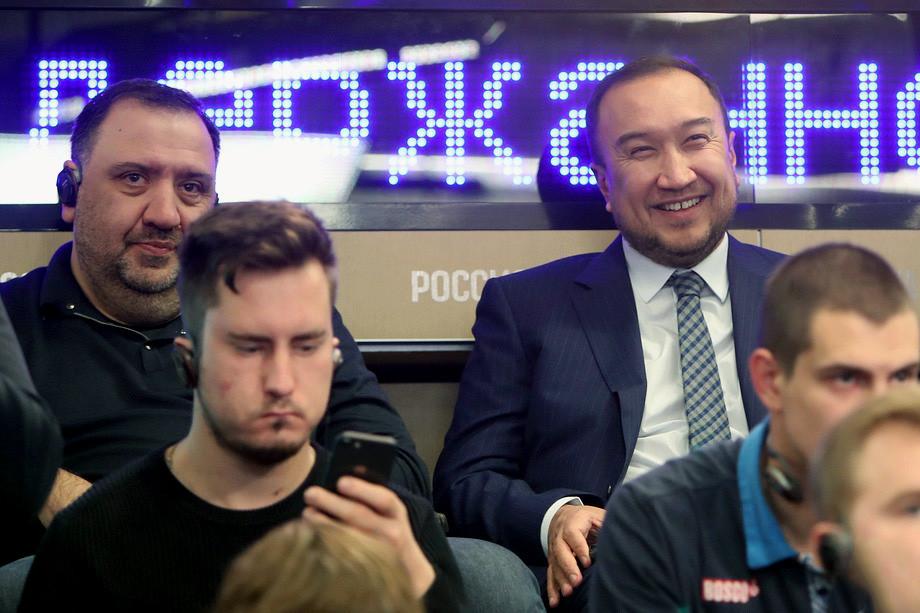 Тимур Гурцкая и Марко Трабукки