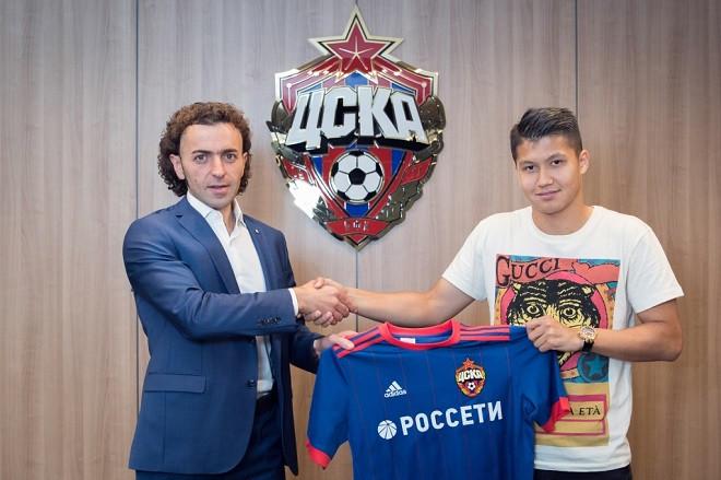 ЦСКА объявил о переходе Ахметова