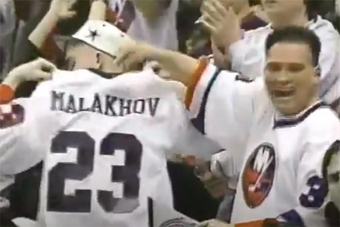 Супергол Малахова за «Айлендерс». Американские фанаты были в восторге
