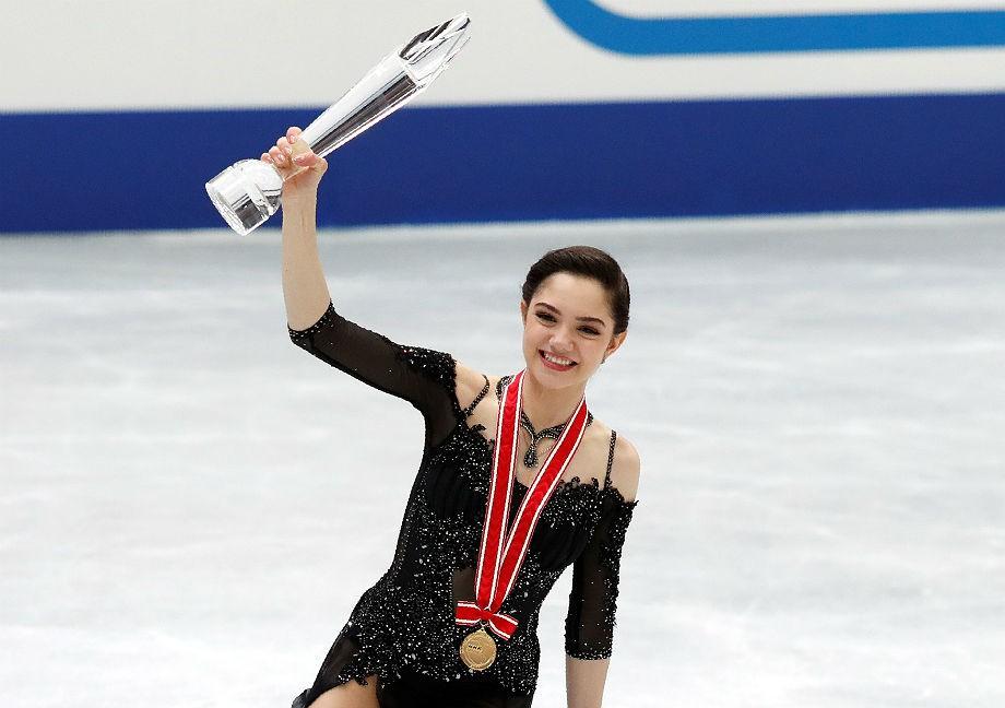 Победа Евгении Медведевой в Осаке