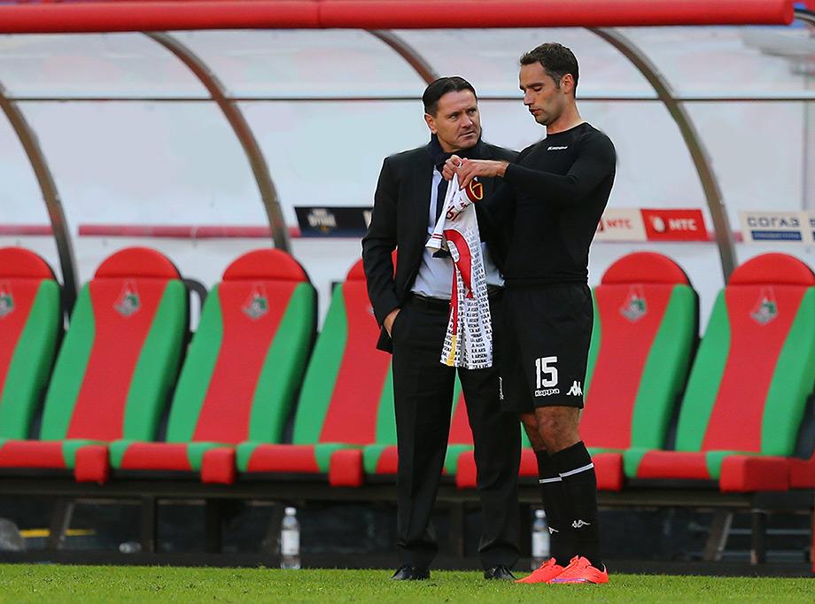 Дмитрий Аленичев и Роман Широков