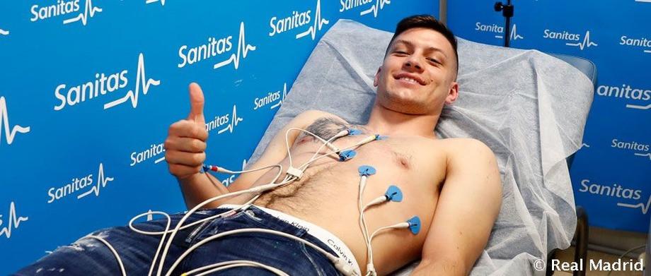 Йович прошёл медосмотр перед претентацией в качестве игрока «Реала»