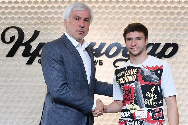 Дмитрий Стоцкий стал игроком «Краснодара»
