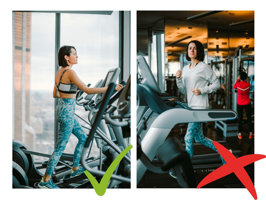 На Евгении: леггинсы и топ Nike, джемпер Adidas, кроссовки для бега solarboost от Аdidas.