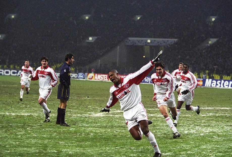 «Спартак» — «Арсенал» — 4:1. 22.11.2000