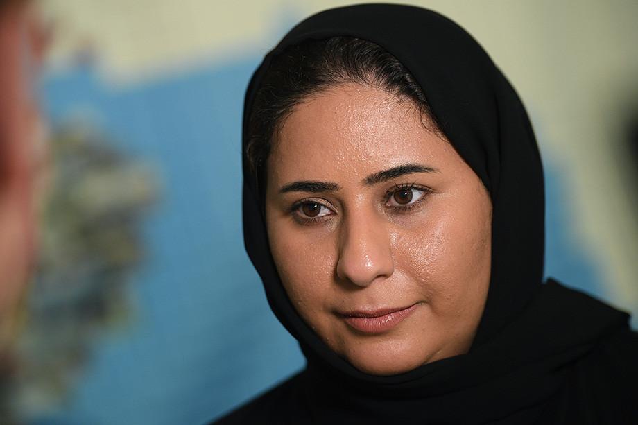 Директор PR-департамента катарского оргкомитета чемпионата мира по футболу 2022 Фатма Аль-Найми