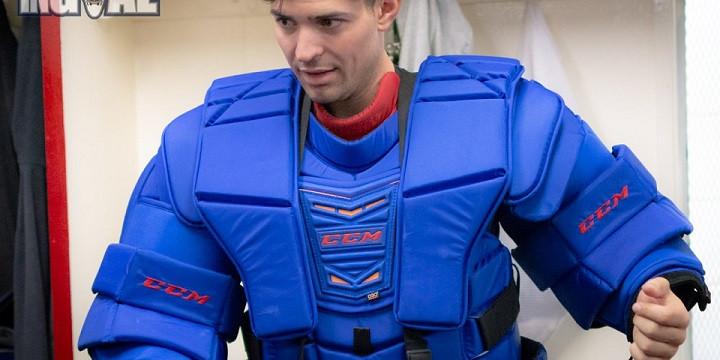 Новый вратарский нагрудник НХЛ