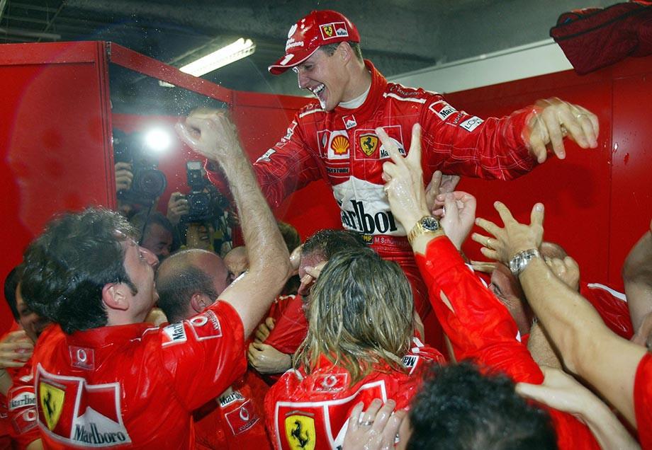 Михаэль Шумахер на Гран-при Японии — 2006: как пилот «Феррари» отмечал шестое чемпионство