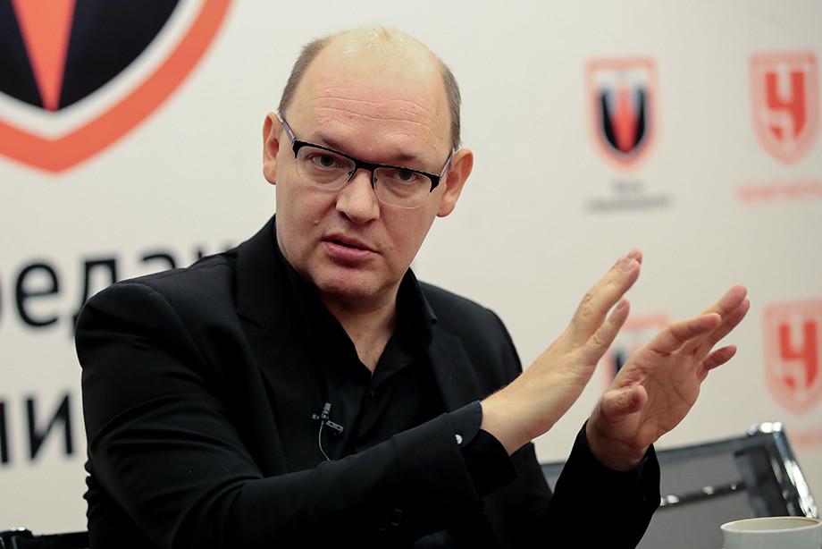 Илья Геркус в редакции «Чемпионата»